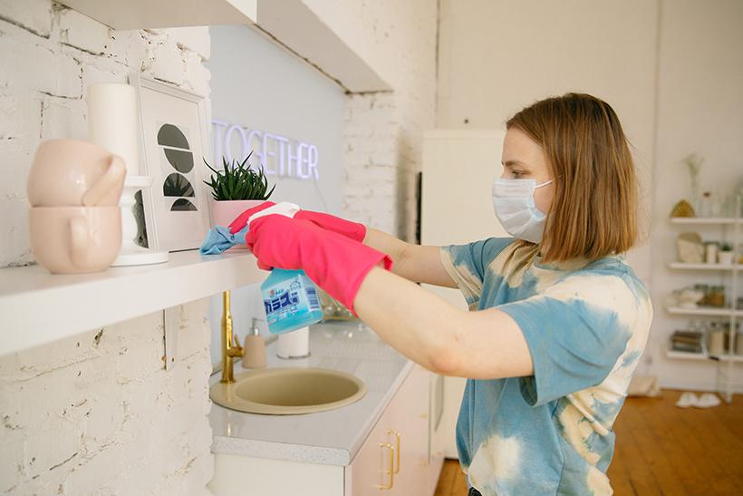 limpiar comercio coronavirus